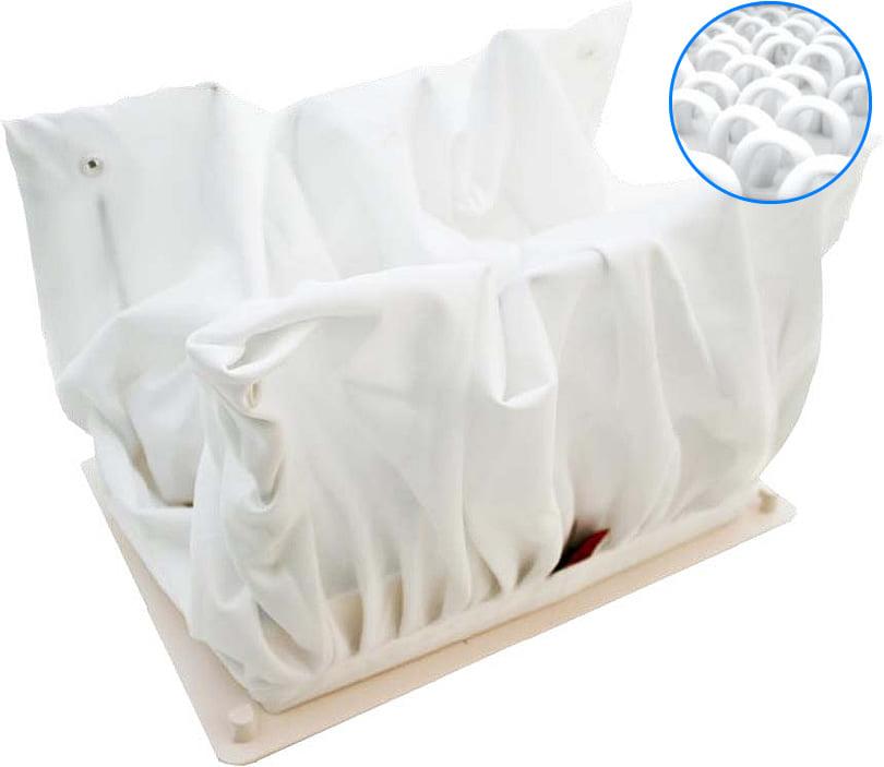 Robot automatico piscina per il fondo e pareti FRC 90: sacco Filtro in Tessuto 3D