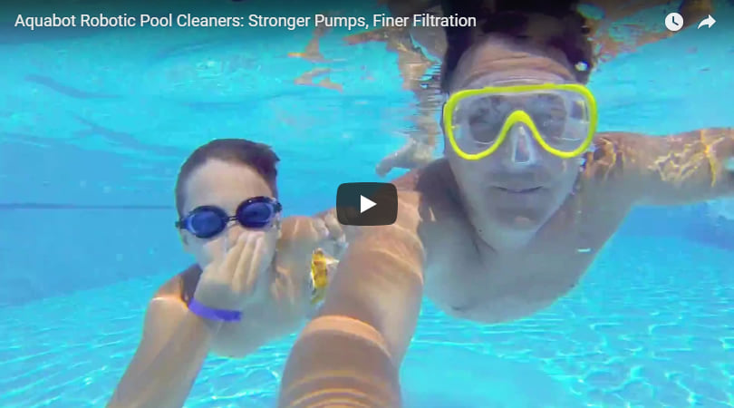 Robot pulitore piscina Falcon K200: video