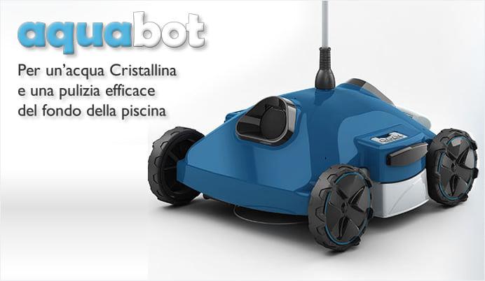 4 robot per piscina automatico aquabot for Piscina 5x3 fuori terra