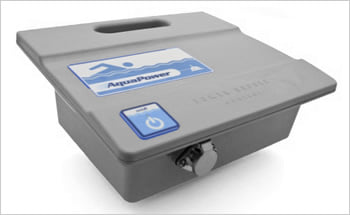 Robot pulitore piscina TRAC 3000, cosa ri viene spedito: pannello di controllo