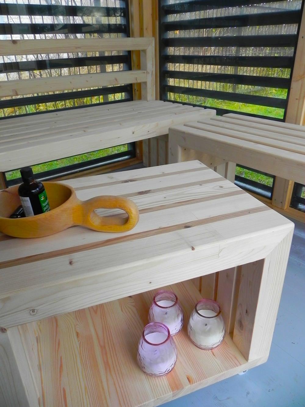 Piscineitalia   sauna da giardino garden cube