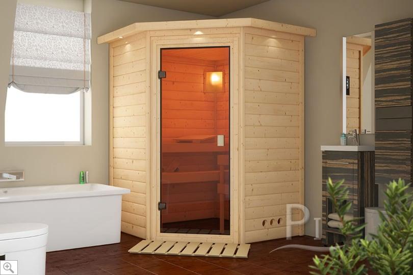 Sauna infrarossi Alicia in ambientazione interna