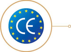Sauna infrarossi Giorgia - Certificazione CE