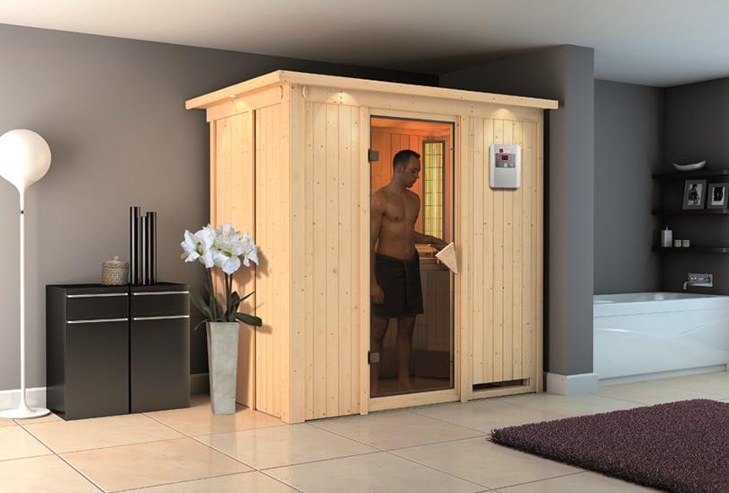 Sauna infrarossi Variado ambientazione in interno
