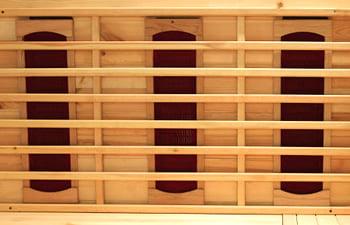 Sauna infrarossi Erika - Incluso nel kit sauna - Lampade a infrarossi in ceramica