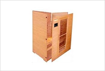 Sauna infrarossi Giorgia - Incluso nel kit sauna - Struttura in legno