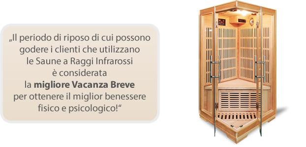 Sauna infrarossi Aurora per migliorare il benessere mentale e fisico