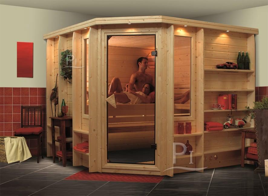 PiscineItalia - Sauna finlandese in legno nordico CRISTINA
