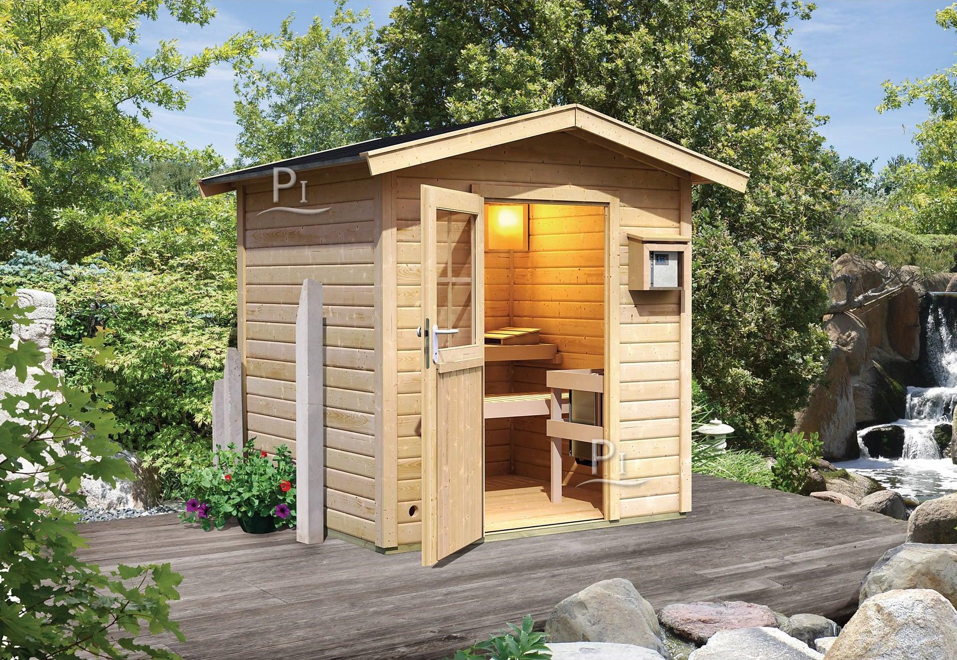 Documento senza titolo - Sauna exterieur finlandais bois ...