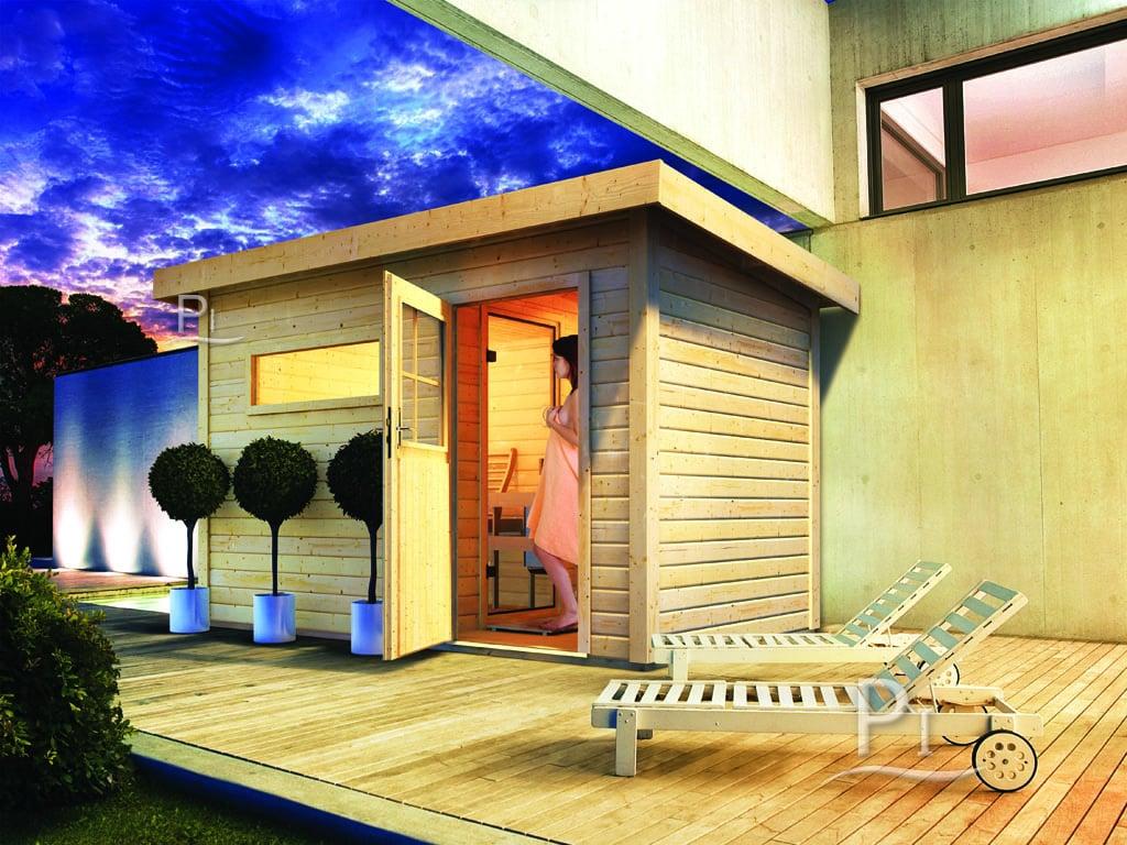 Sauna da giardino Zen 1