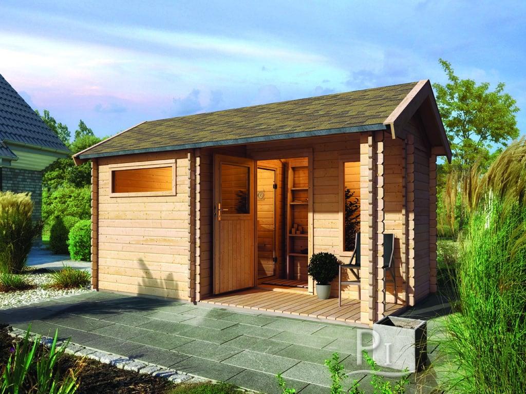 Sauna finlandese da giardino garden 4 piscine italia - Sauna da esterno ...