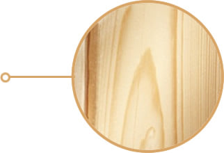 Sauna infrarossi Rina: legno di abete con pareti coibentate