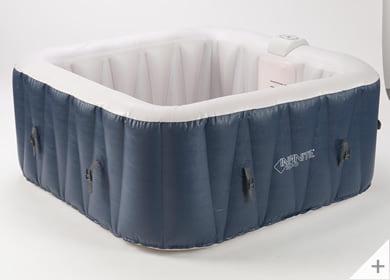 Vasca idromassaggio gonfiabile infinite spa quadrata Champion 4 posti - Materiali resistenti