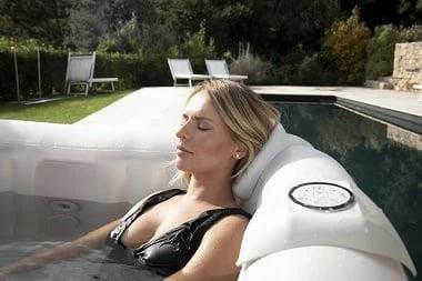 Vasca idromassaggio gonfiabile infinite spa quadrata Champion 4 posti - Relax e distensione