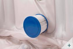 Vasca idromassaggio gonfiabile infinite spa quadrata Champion 4 posti - Kit spa 1 - Filtrazione a cartuccia