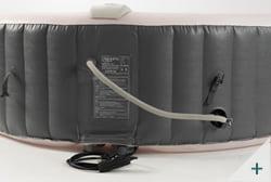 Vasca idromassaggio gonfiabile infinite spa rotonda XTRA 4 posti - Kit spa 3 - Tubo di gonfiaggio