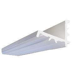 Profilo in PVC per supporto griglia