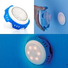 Proiettore LED BIANCO per bocchetta di mandata