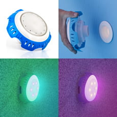 Proiettore LED a COLORI per bocchetta di mandata