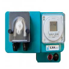 Pompa dosaggio antialghe e floculante