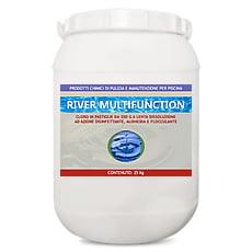 Cloro in pastiglie multifunzione 25 kg