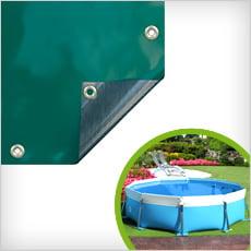 Copertura 4 stagioni per piscine tubolari LAGUNA ROUND 100/125