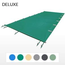 Copertura a barre 4 stagioni DELUXE 580 gmq formato STANDARD per piscina rettangolare 9x4 m