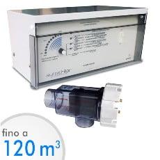 Elettrolisi del sale Autochlor RP fino a 120 mc acqua