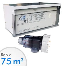 Elettrolisi del sale Autochlor RP fino a 75 mc acqua