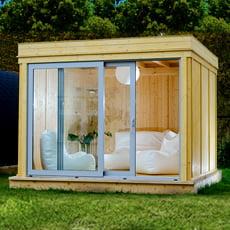 Gazebo da giardino Garden Cube SET D - 3x3m