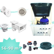 8. Kit impianto piscina 90 PLUS
