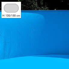 Liner per piscina SKYBLUE COMFORT ovale - Colore azzurro