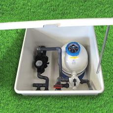 Locale tecnico piscina modello APOLLO 450