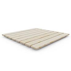 Piatto doccia da esterno ECOWOOD in legno 80x80x4 cm Arkema D107