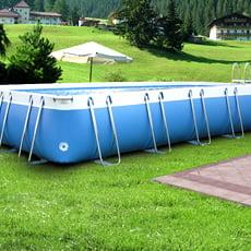 Piscina fuori terra tubolari LAGUNA LARGE 125