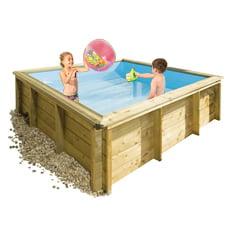 Piscina in legno fuori terra rettangolare TROPIC JUNIOR 2x2