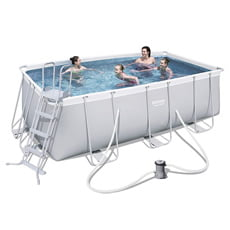 Piscina fuori terra Bestway 56456 POWER STEEL 412x201 cm - h. 122 cm