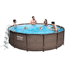 Piscina fuori terra Bestway POWER STEEL DELUXE 56664 427 - h 107 cm