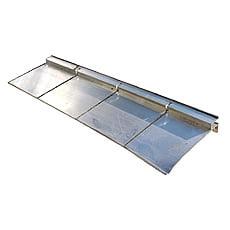 Guida forma libera alluminio 100 mm