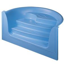 Scala Onda in vetroresina per piscina