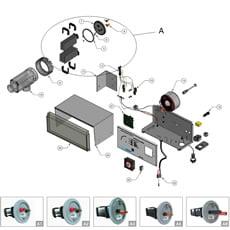 Ricambi per Elettrolisi del Sale Autochlor RP/RP-PH 35m³ 75m³ 90m³ 120m³ 170m³ 230m³ 300m³