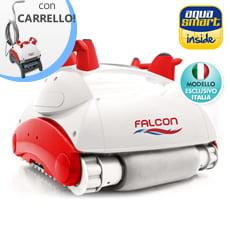 Robot automatico per fondo e pareti piscina FALCON K200