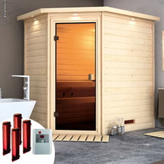 Sauna infrarossi Camelia con SET lampade infrarossi
