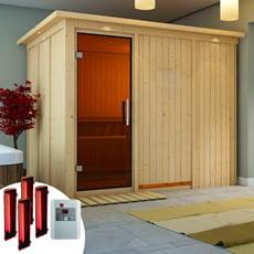 Sauna infrarossi Eleonora con SET lampade infrarossi