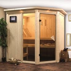 Sauna finlandese in legno nordico Fedora 2