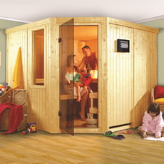 Sauna finlandese in legno nordico Felicia