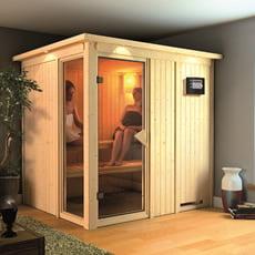Sauna finlandese in legno nordico Pamela