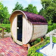 Sauna finlandese da giardino Natura