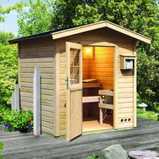 Sauna finlandese da giardino Nicla