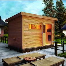 Sauna finlandese da giardino Zen 2